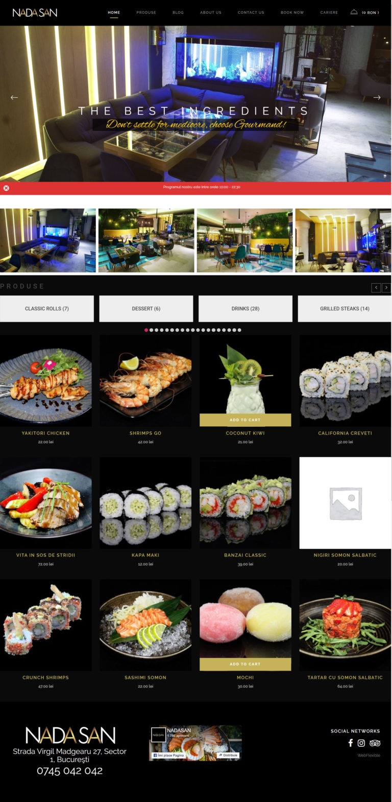 Exemplu de website construit de noi. nadasan.ro