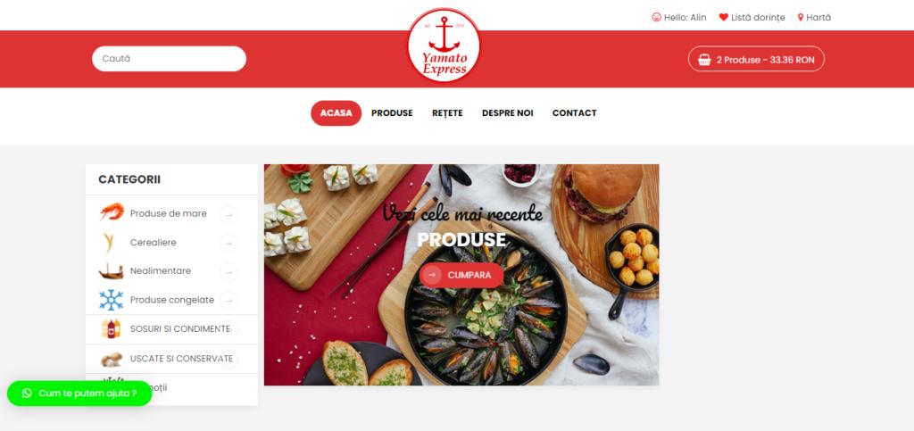 CeMancam.online Magazin produse alimentare Asiatice